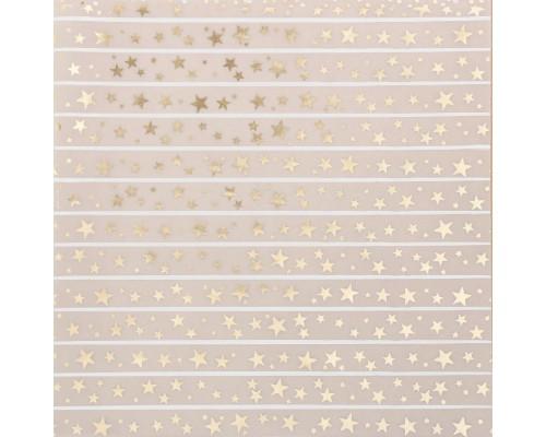 "Калька декоративная ""Звездный дождь"", 30,5х30,5 см, 1 лист, Артузор"