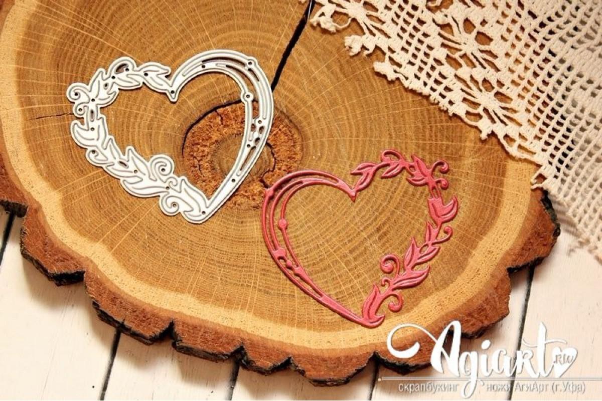 """Нож для вырубки """"Любящее сердце"""" от AgiArt"""