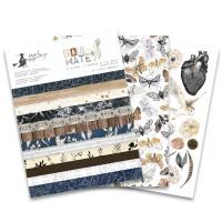 """Набор бумаги """"Soulmate"""" 15.3 х 20.3 см., 1/2 полного набора, 12 листов, P13"""