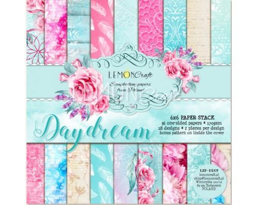"""Набор бумаги """"Day Dream"""" 15*15 см - 18 листов (1/2 набора) Lemoncraft"""