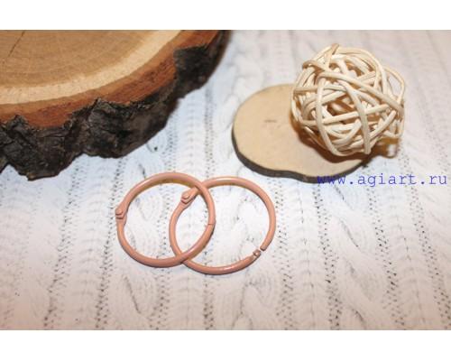 """Кольца """"персиковые"""" 3,5 см., 2 шт"""
