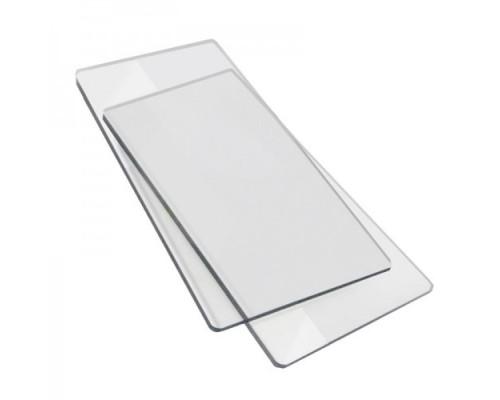 Прозрачные пластины для вырубки 1 пара, для Мини машин