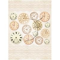 """Бумага односторонняя """"Vintage time 035"""" А4, Lemon craft"""