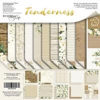 """Набор бумаги 20*20 см """"Tenderness"""", 11 листов, ScrapМир"""