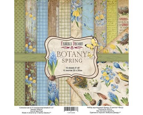 "Набор бумаги ""Botany Spring"" 20*20см., Фабрика Декору"