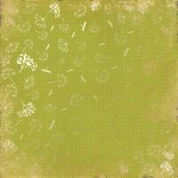 """Лист фольгированной бумаги  """"Golden Dill Botany summer"""" Фабрика Декору"""