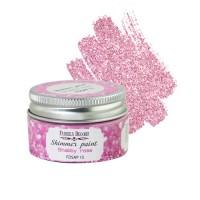 """Краска с глиттером """"Shimmer paint"""", цвет Розовый шебби"""