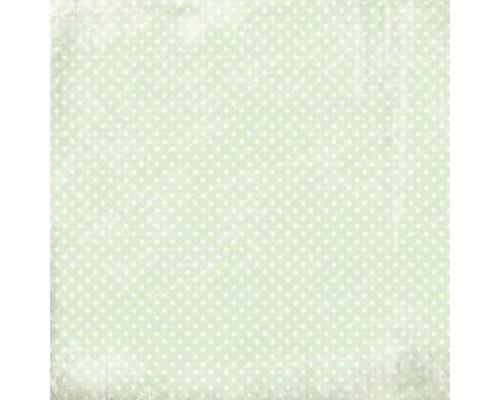 """Бумага серии """"Мятная нежность"""" односторонняя Karaliki"""