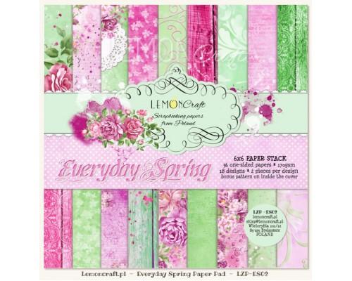 """Набор бумаги """"Everyday Spring"""" 15*15 см-1/2 набора Lemoncraft"""