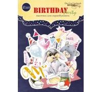 "Высечки бумажные ""Birthday Party"" Scrapmir"