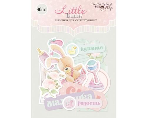 """Высечки бумажные """"Little Bunny"""" Scrapmir"""