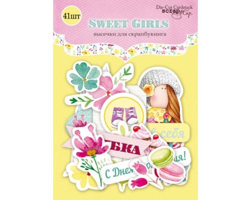 "Высечки бумажные ""Sweet girls"" Scrapmir"