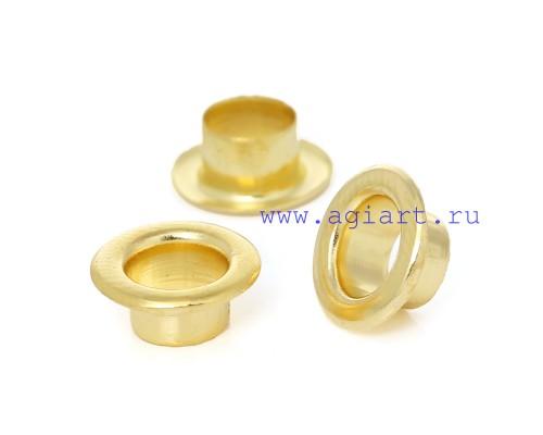 Люверсы золото 10 мм, 10 шт