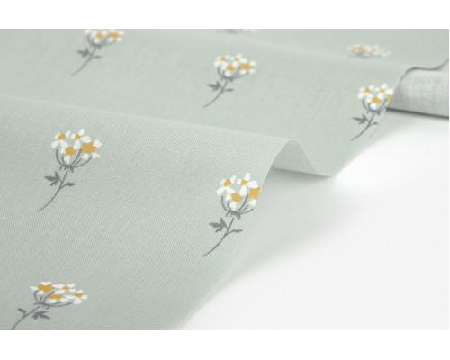"""Ткань корейский хлопок 100% """"Lace flower : mini flower""""  45*53 см Daily Like"""