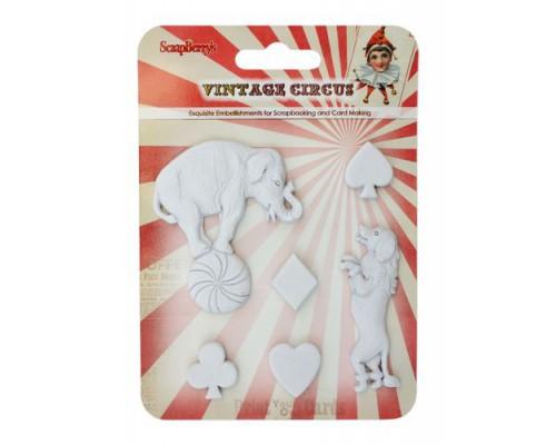 Набор полимерных фигурок Старый цирк. Представление