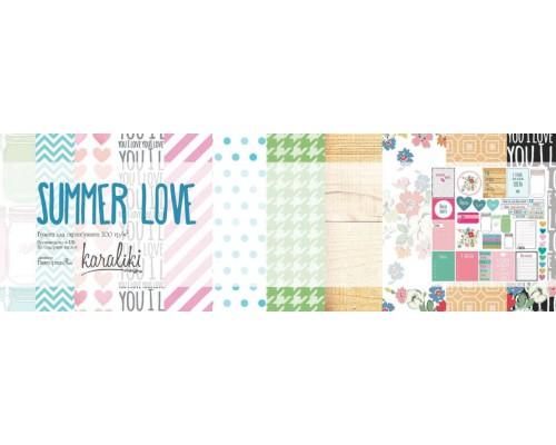 "Набор бумаги 30*30 см ""Summer Love 2"" Karaliki"