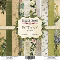 "Набор скрапбумаги ""Botany summer"", 20 Х 20 см, Фабрика Декору"