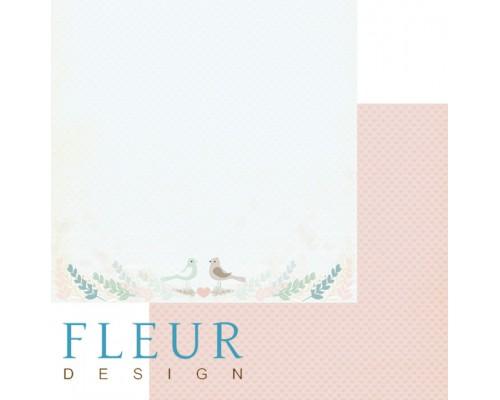 """Бумага коллекция """"Зарисовки весны"""" Fleur paper"""