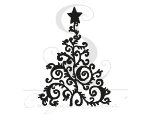 """Штамп """"Новогодняя елка"""""""
