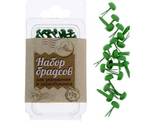 """Набор брадсов """"Весенняя зелень"""", 20 шт, АртУзор"""