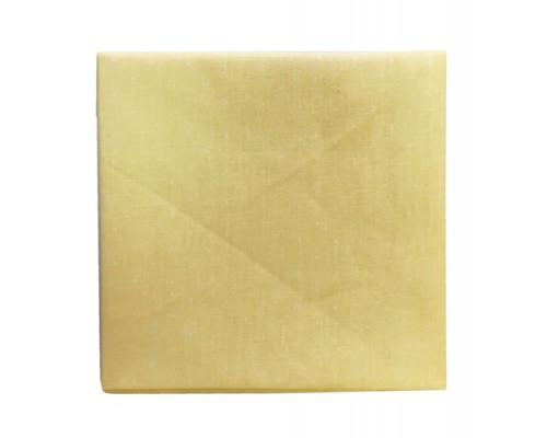 Ткань хлопок Горох  светло-желтый 50*50 см Гела