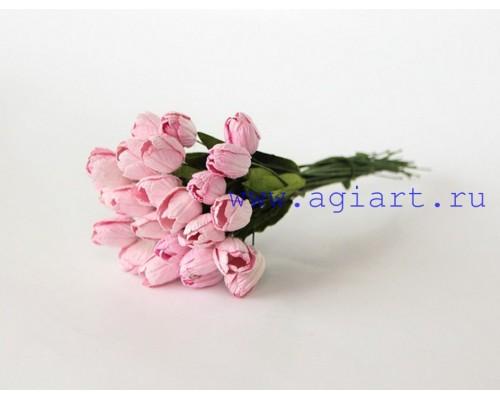 """Тюльпаны """"розовые"""", 5 штук"""