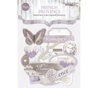 """Высечки бумажные  """"French Provence"""" Scrapmir"""