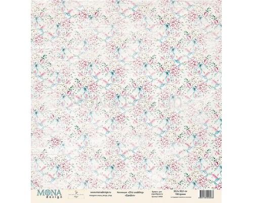 "Бумага двусторонняя серии ""Chic wedding"", Mona Design"