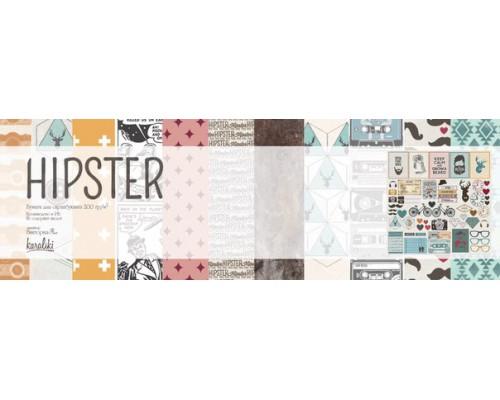 "Набор бумаги 30*30 см ""HIPSTER"" Karaliki"