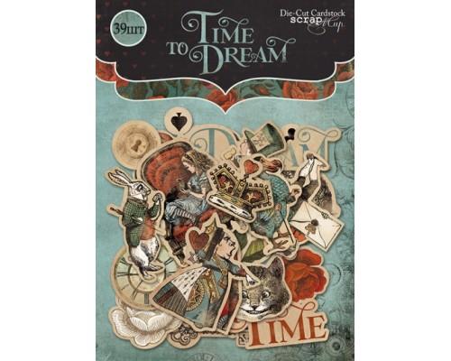 """Высечки бумажные """"Time to Dream"""" Scrapmir"""