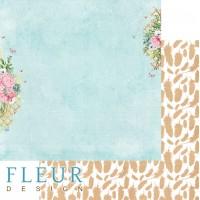 """Бумага двусторонняя """"Дыхание весны"""" FLEUR-design"""