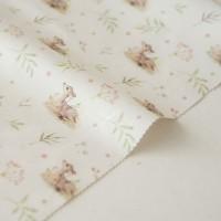Отрез ткани «Олени на лугу» Forest story, 40х50 см., Impressio Design