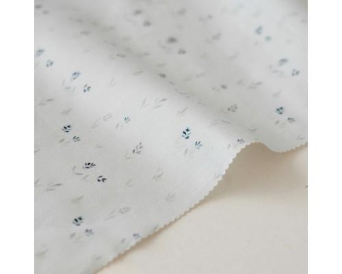 Отрез ткани «Колосья на голубом» Forest story, 40х50 см., Impressio Design