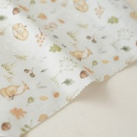Отрез ткани «Лисы в осеннем лесу» Forest story, 40х50 см., Impressio Design