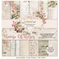"""Набор бумаги """"House of Roses NEW"""" 30*30 см, 6 листов Lemon craft"""