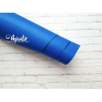 Кожзам, Ярко-синий 50*35 см. Италия
