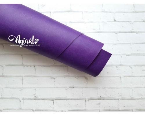 Кожзам, темно-фиолетовый 50*35 см. Италия