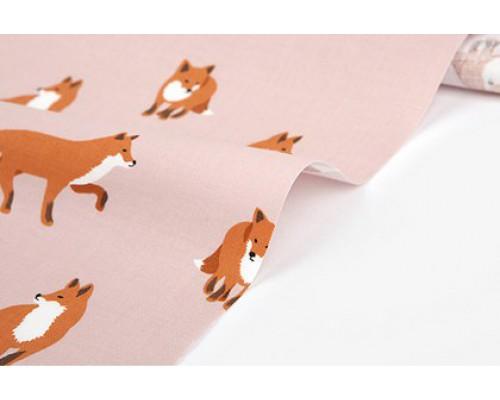 "Ткань корейский хлопок 100% ""Winter fox(C20)""  45*53 см Daily Like"