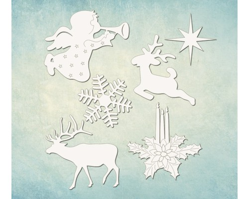 "Чипборд набор ""Рождество"" Просвет"