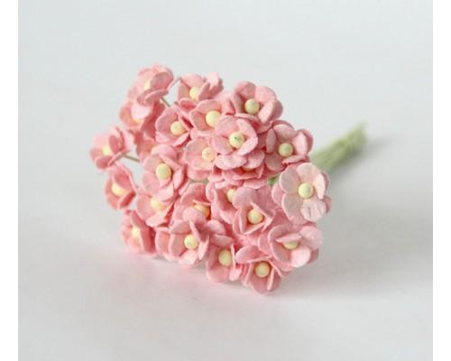 """Цветы вишни МИНИ """"Розово-персиковые"""", 25 шт"""