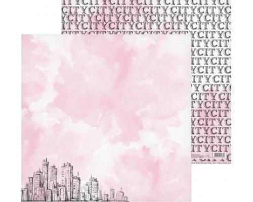 """Бумага двусторонняя """"My City"""" 30.5 x 30.5 см Артузор"""