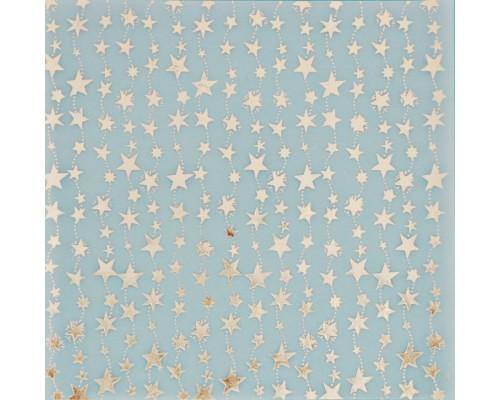Калька декоративная c фольгированием «Волшебство на пороге» , 20 х 20 см, 1шт., Артузор