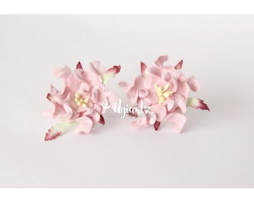 """Гардения многослойная """"Розовая"""", 4,5 см., 1 шт."""