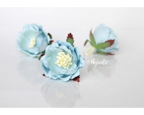 """Полиантовые розы """"Голубой"""", 1 шт."""