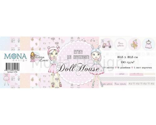 "Набор бумаги ""Dollhouse"" 30,5*30,5 см Mona Design"