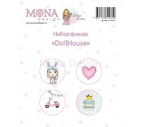 "Фишки ""Dollhouse"" Mona Design"