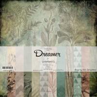 """Набор бумаги """"Dreamer"""" 12 листов 30*30см Summer Studio"""