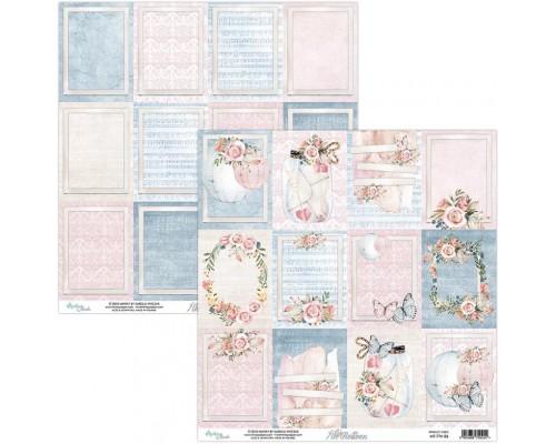 """Бумага двусторонняя коллекция """"7th Heaven"""" 30.5 х 30.5 см., Mintay paper"""