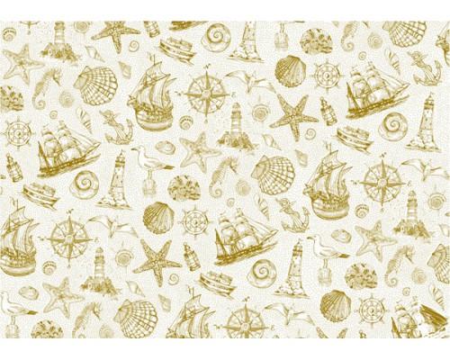 "Калька декоративная ""Sea Adventure"" Ships, 21 х 29,7 см Bee Shabby"