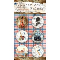 "Набор фишек (топсы) ""Sherlock Holmes"" Bee Shabby, 6 шт."
